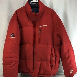 Tommy Hilfiger Reversible Coat Jacket Down Puffer